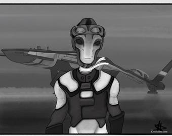Mass Effect Fanart