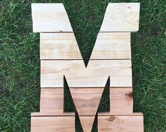 Reclaimed Wood Letter Cutouts