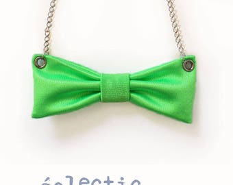 "Necklace loop fabric green screen ""green screen"""
