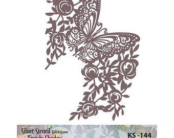 Stencil Masking, KS 144,  18x25 cm, stencils, Diy stencil, fabric stencil