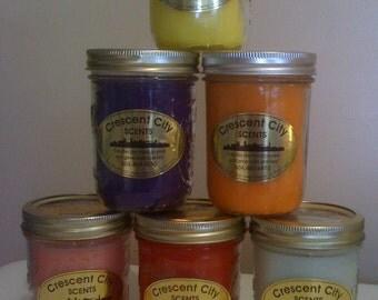 Scented Candles (16oz Mason Jar)