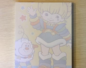 Rainbow Brite and the Sprite Notepad & Pen Set (80s cartoon)