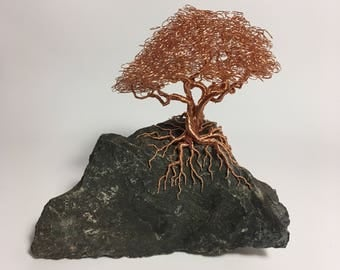 Dragon Tree | Dragon tree | Fly | Copper | Home decoration