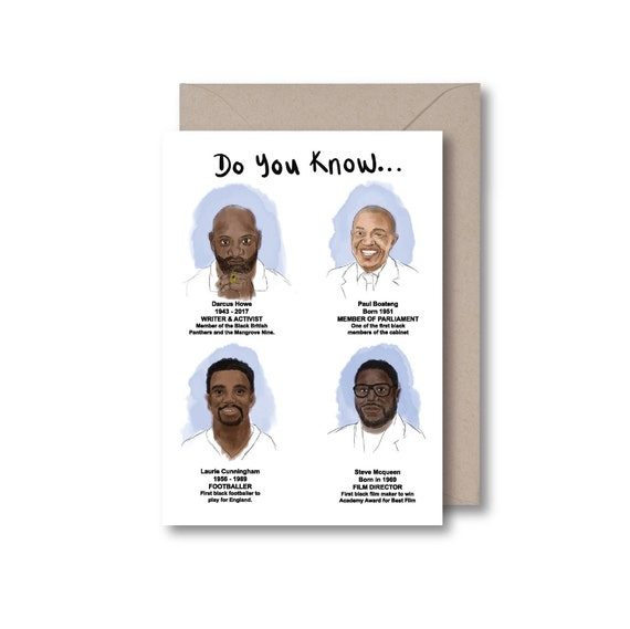 Do you know...These Black British Men?
