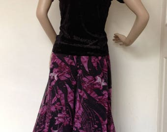 Argentine tango culottes in small size