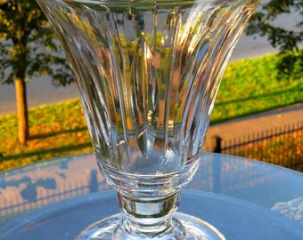 "Stuart Crystal of England-9' Vase-""Hampshire"" pattern-Pristine Condition-Signed-NO Damage-Circa 1955-1981"