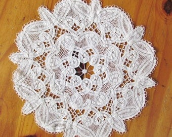 Luxeuil lace doily