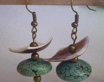 Dangle earrings - unique creation