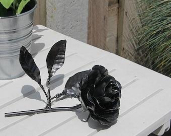 Rose handmade. Metal Art.