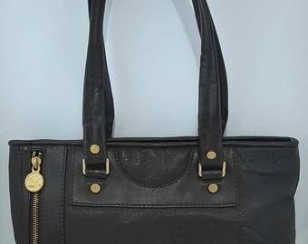 Leather Puma Carry Bag 90s