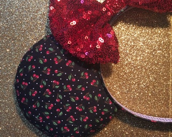 sweet cherry pie mouse ears