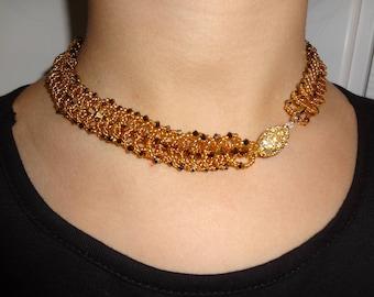 Sun Gold Necklace