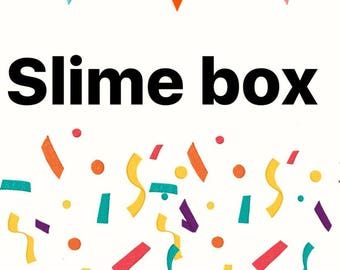 monthly slime box