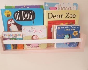 Floating Nursery Bookshelves