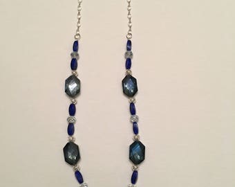 Blue Jewels Necklace