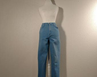 80s mom jeans, high waisted, tapered, skinny jeans, vintage denim, 1980s fashion, size 6 jeans, 80s pants, 1980s denim, hipster jeans