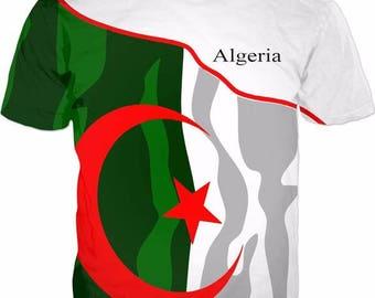 Algeria Men's Flag Tee