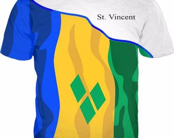St. Vincent Men's Flag Tee