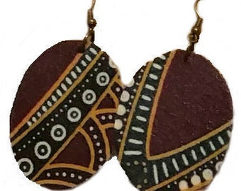 Earrings African Style