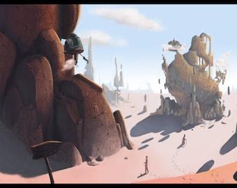The Space Desert