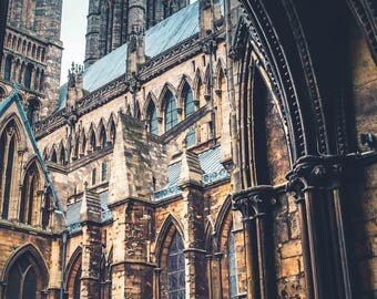 Lincoln Cathedral - Lincoln Photography - Fine Art Photography - Lincoln - English Photography - City Photography - Title: St. Mary's