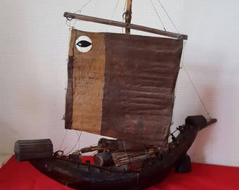 Ancient Chinese junk