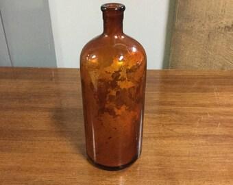 Oxol Amber Bottle
