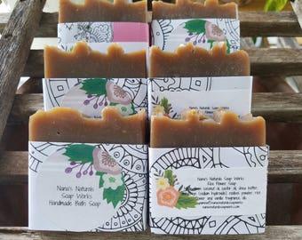 Rice Flower Vanilla Soap