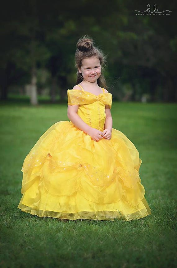 Belle Dress Disney Princess Beauty And The Beast