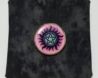 Supernatural Anti-Possession Charm Button