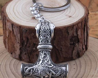 Vikings Thor Hammer Keychain Exclusive