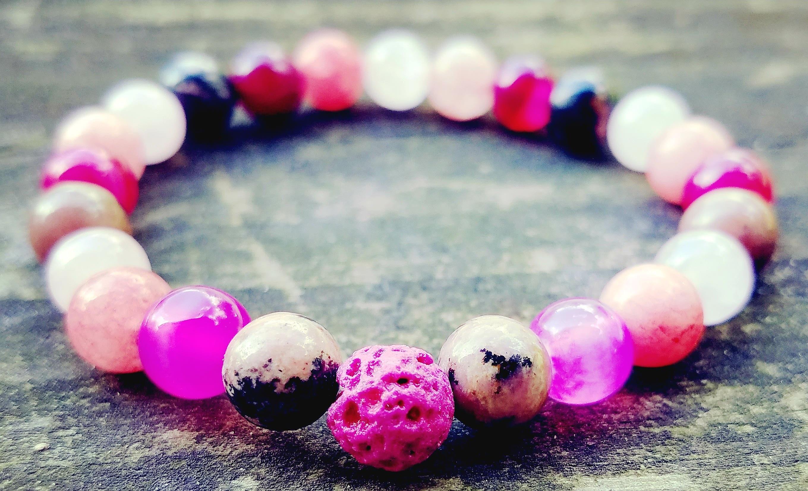 self confidence gemstone bracelet self multicolor