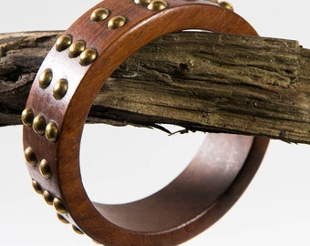 Wooden  Bangle (DF/BBL/NO40)