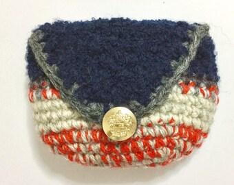 Knitting: Small purse