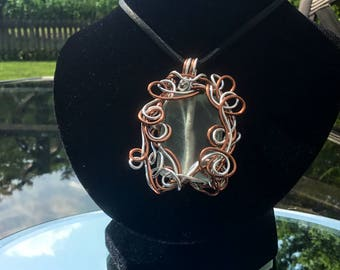 Glass Bead in Aluminum and Copper