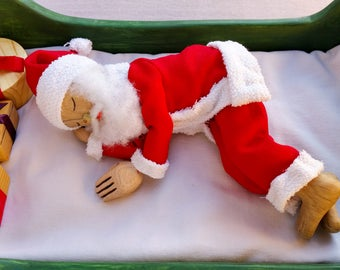 Sleeping Santa Christmas gift