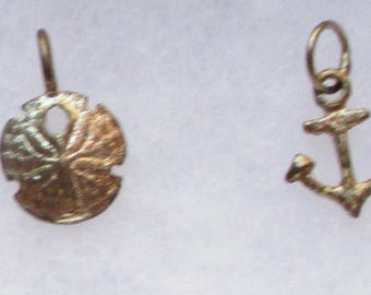 Vintage Silver Charms Small