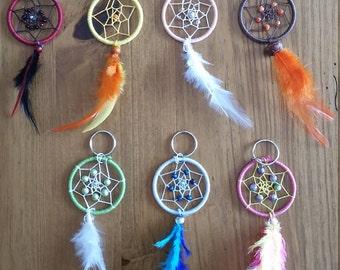 Custom Dream Catcher Keychains