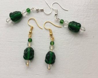 Great Green Earrings