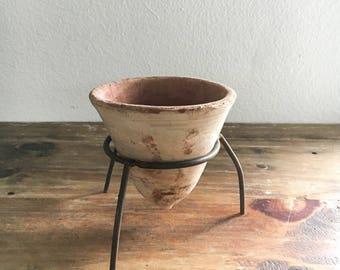 Vintage Terra-Cotta Small Planter