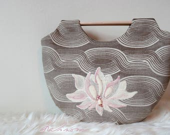 Handmade Lotus Flower Buddha Handbag