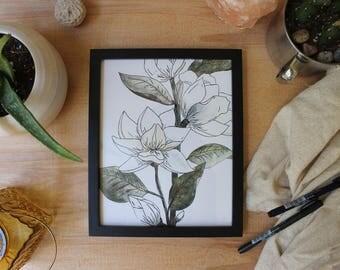 Magnolia // Print