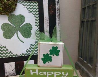 Happy St. Patrick's Day Blocks