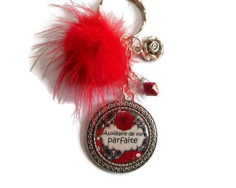 "Door keys/carer / ""Perfect Assistant"" / Wonderland faby/gift/thank you/party/birthday/Christmas/Valentine's day"