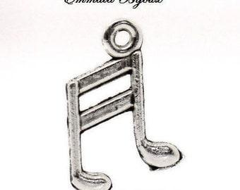 14x10mm music note charm pendant