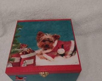 Christmas Yorkshire Keepsake Box