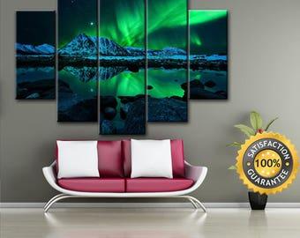 Aurora Borealis print, Aurora wall art, Aurora Borealis canvas, Aurora canvas, Aurora Borealis art, Aurora Borealis, Aurora Borealis picture