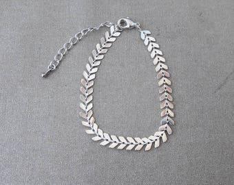 Spike chain bracelet