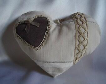 CŒUR SHABBY romantic CHIC antique lace