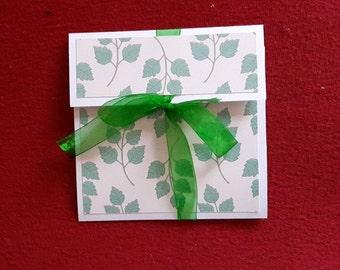 Card Pocket door cheque or Bank Happy Birthday